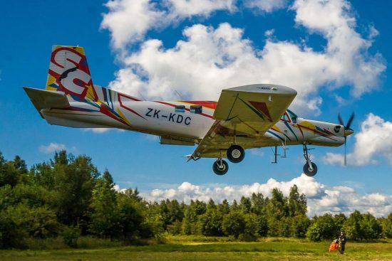 Plane of the Sky Camp Dropzone: PAC 750 XSTOL - Photo by Kamil Stawicki