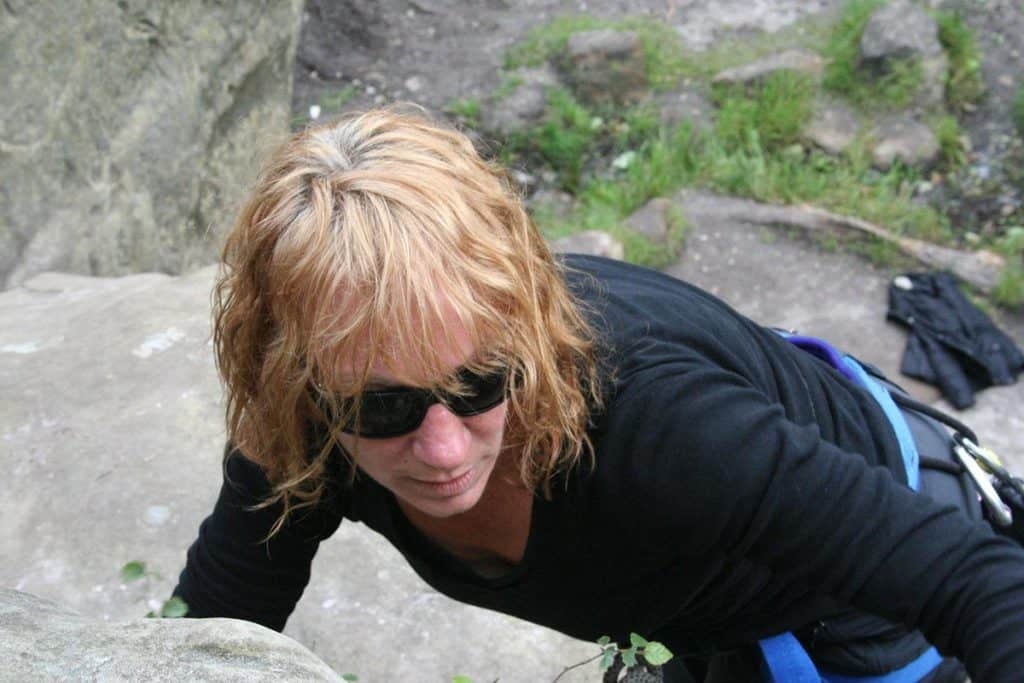 Mary-lou Barratt climb