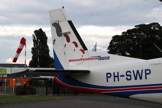 Flugzeug Teuge