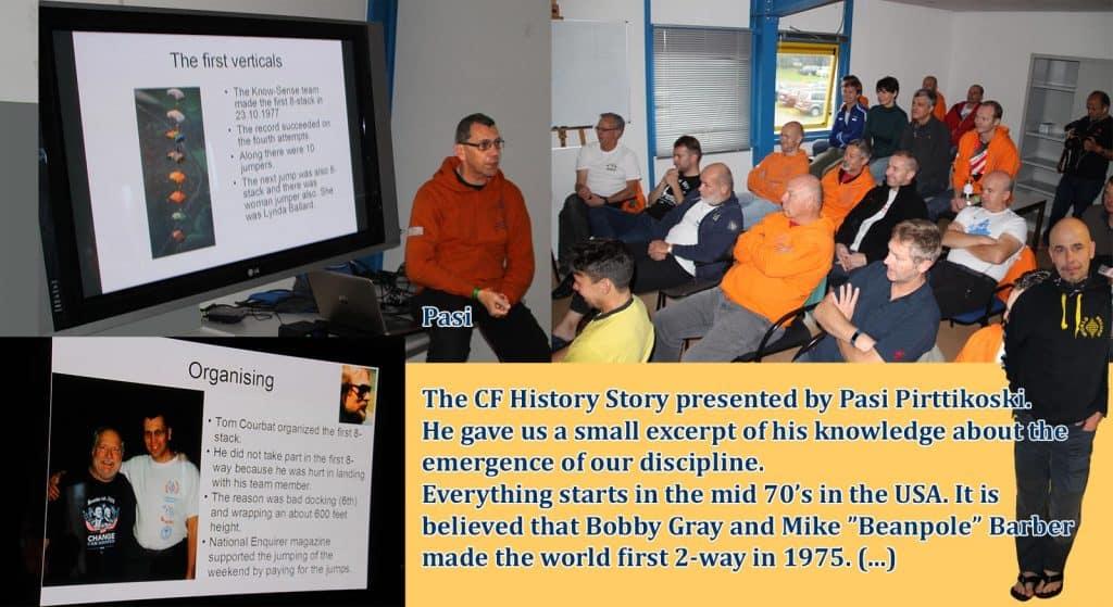 The CF History Story-Teller Pasi Pirttikoski