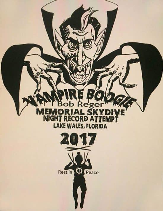 Vampire boogie 2017 Bob Reager Memorial Skydive