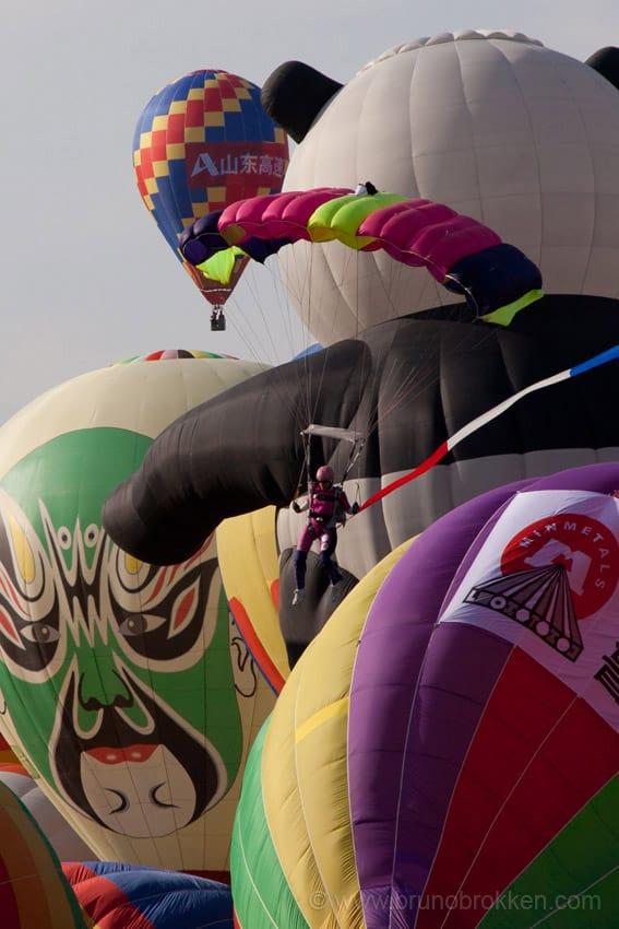 Landing at the Flight Show in China, Laiwu, 2011, Shireen Khavari