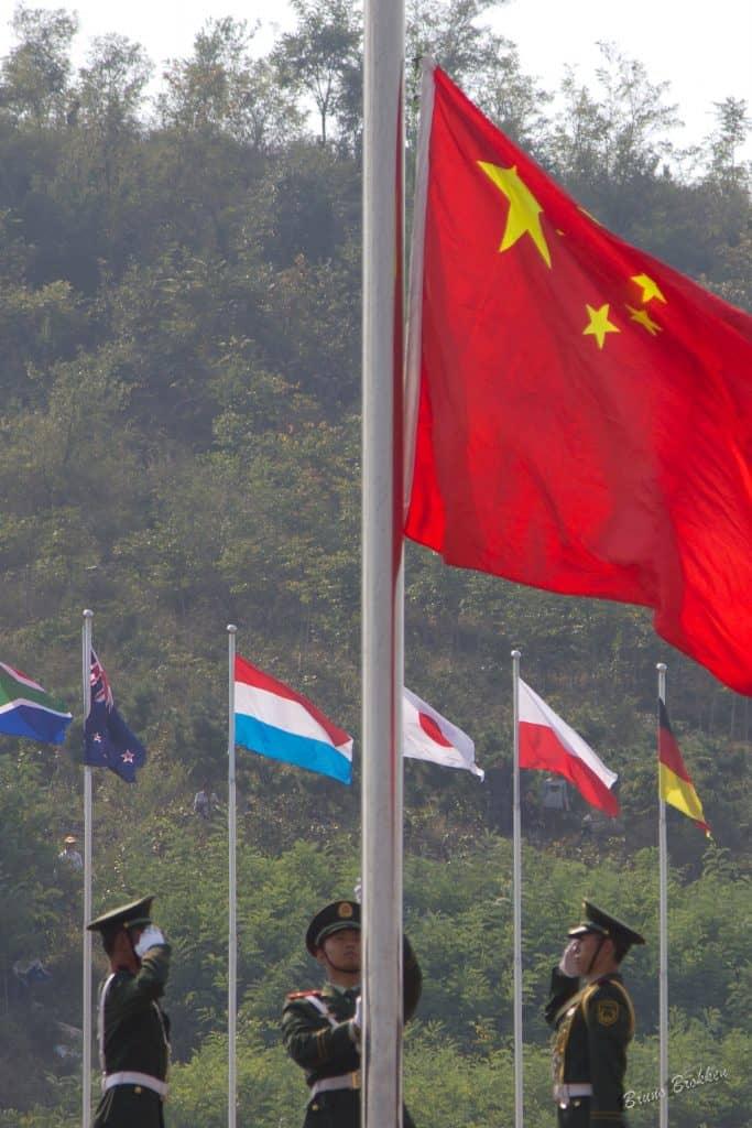 WWorldwide Flight Airshow in China in China, Laiwu, 2011