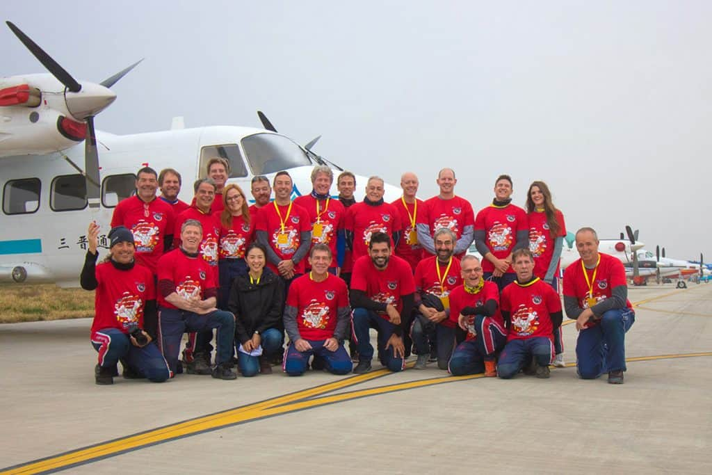Air Sports Show Team Group Picture