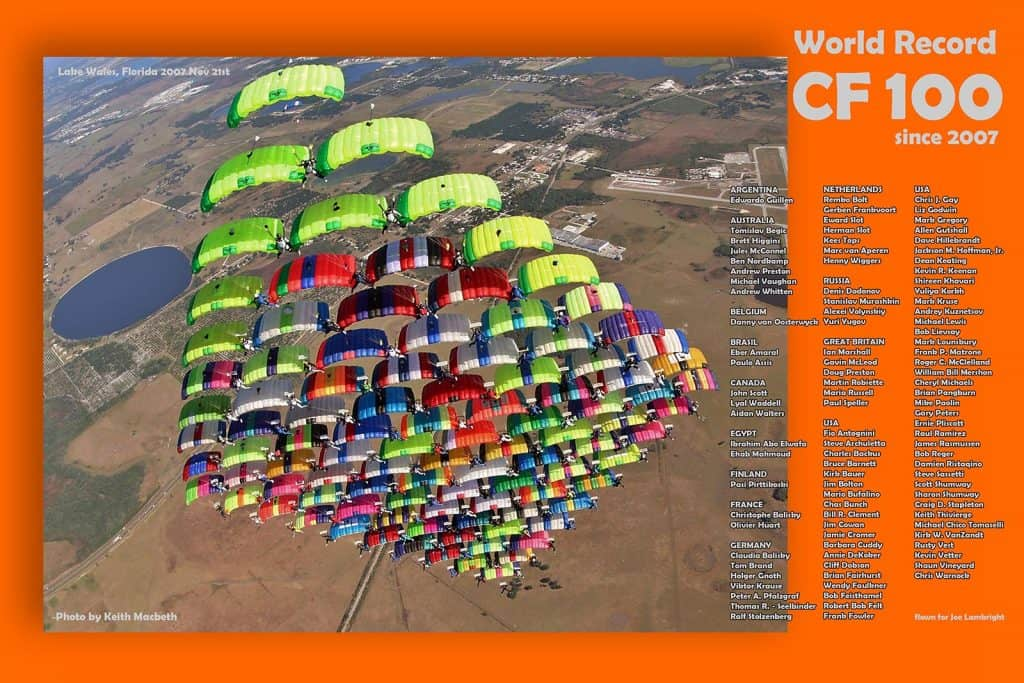 CF100 World Record 2007. Photo by Keith Macbeth